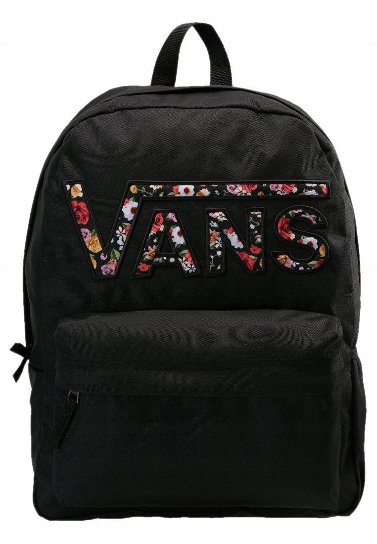 maly plecak czarny damski vans