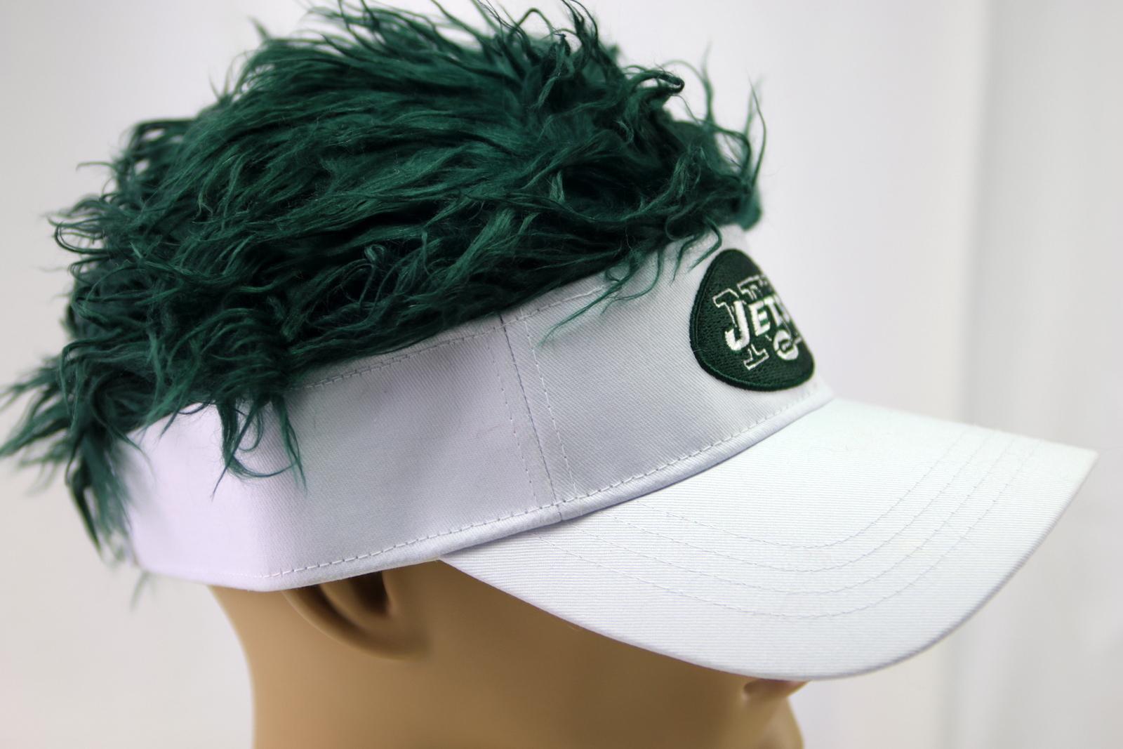 Flair Hair New York Jets NFL Czapka z daszkiem