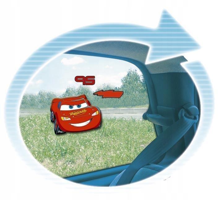 Żelowa dekoracja na szybę Naklejka Nalepka Cars Au