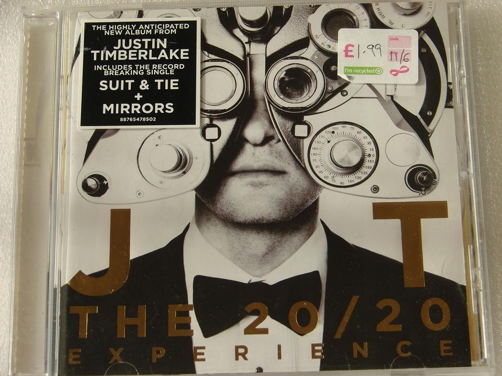 Justin Timberlake The 20/20 Experience CD 2013 EU