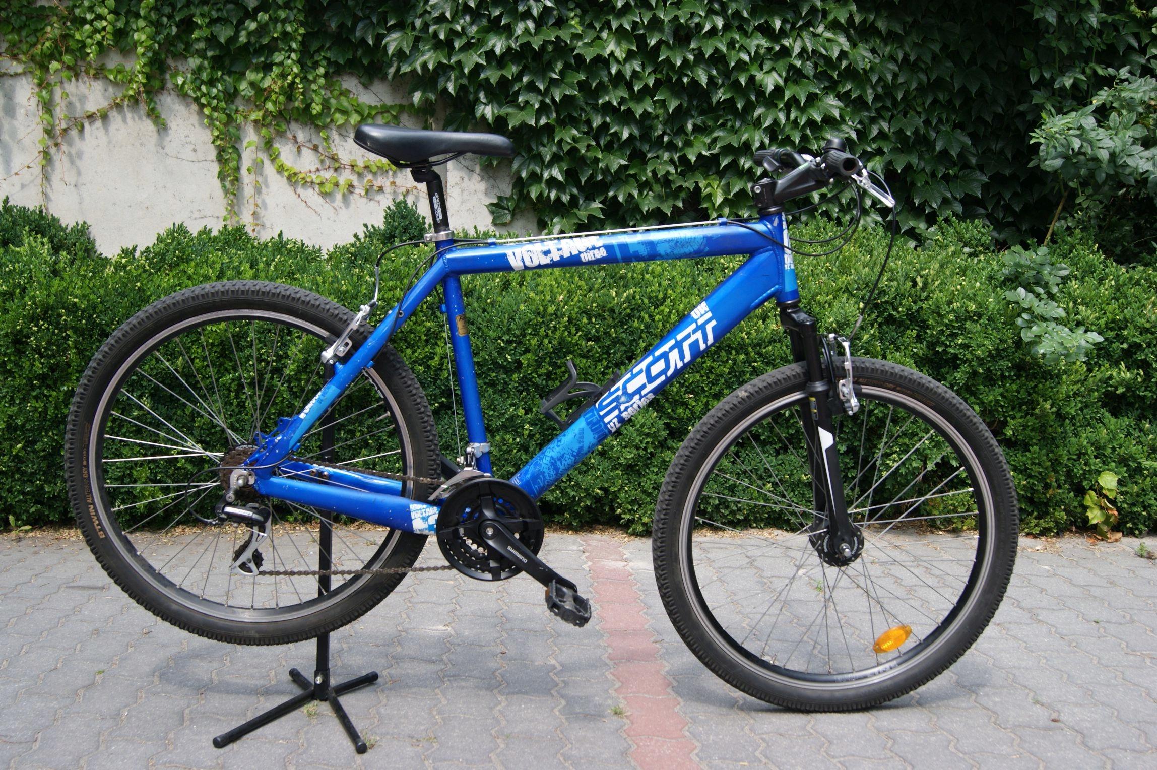 Aluminiowy rower MTB górski SCOTT koła 26''