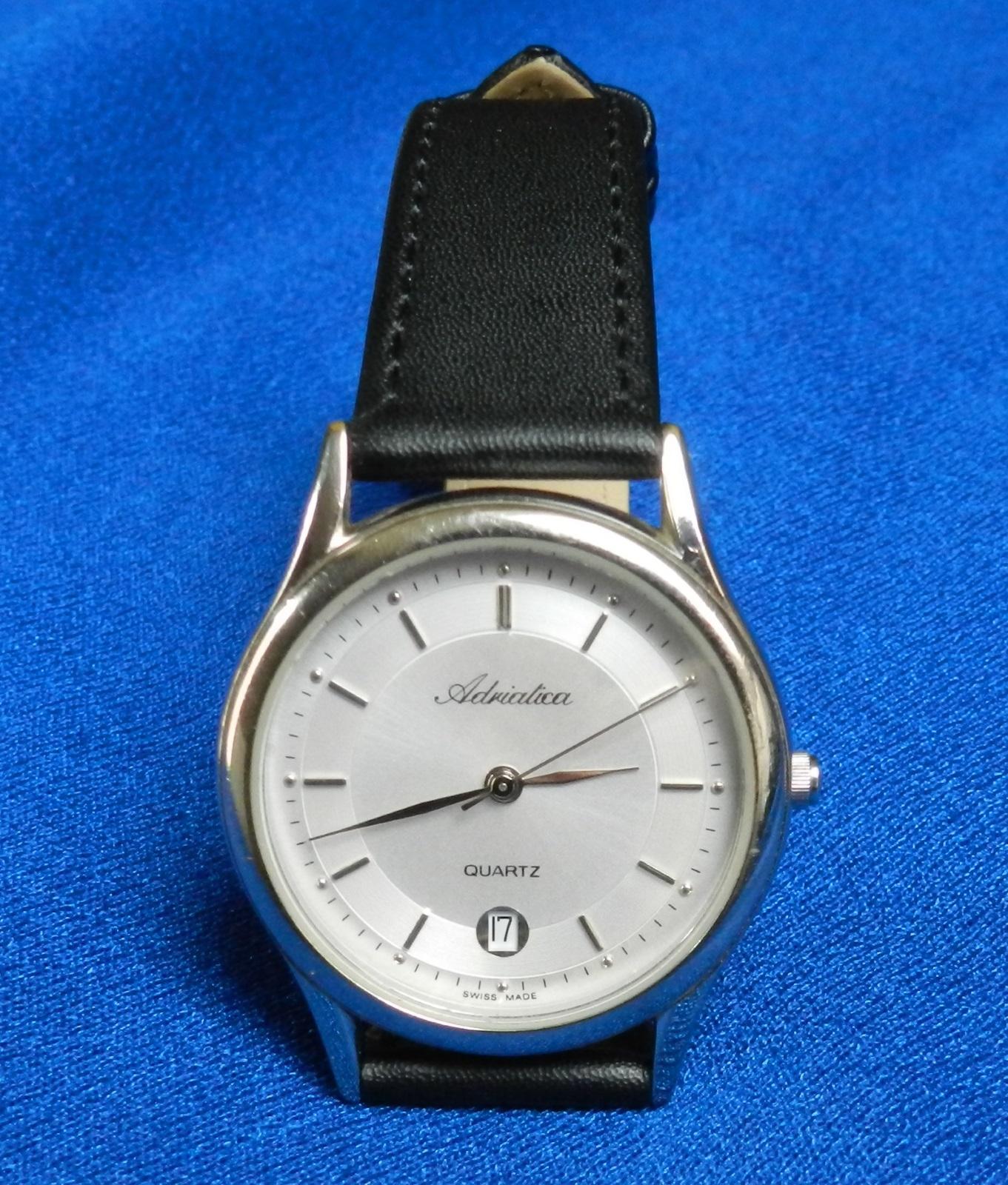 Zegarek ADRIATICA 14176.320.1 SWISS data ładny
