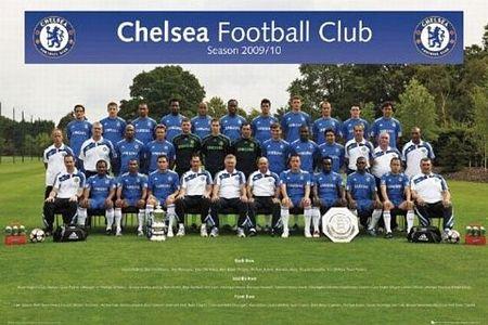 Chelsea (team foto 09/10) - plakat