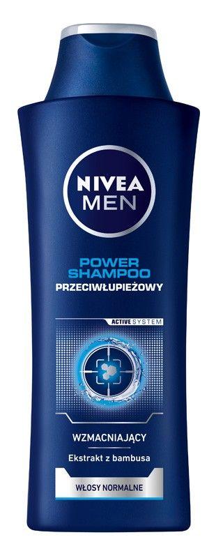 NIVEA Hair Care Szampon PRZECIWŁUPIEŻOWY POWER for