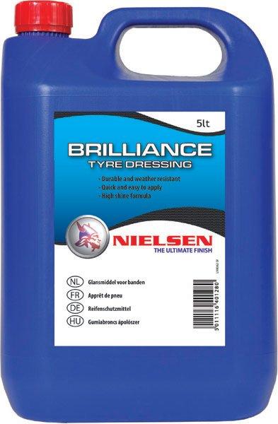 Nielsen BRILLANE - Preparat do konserwacji opon 5L