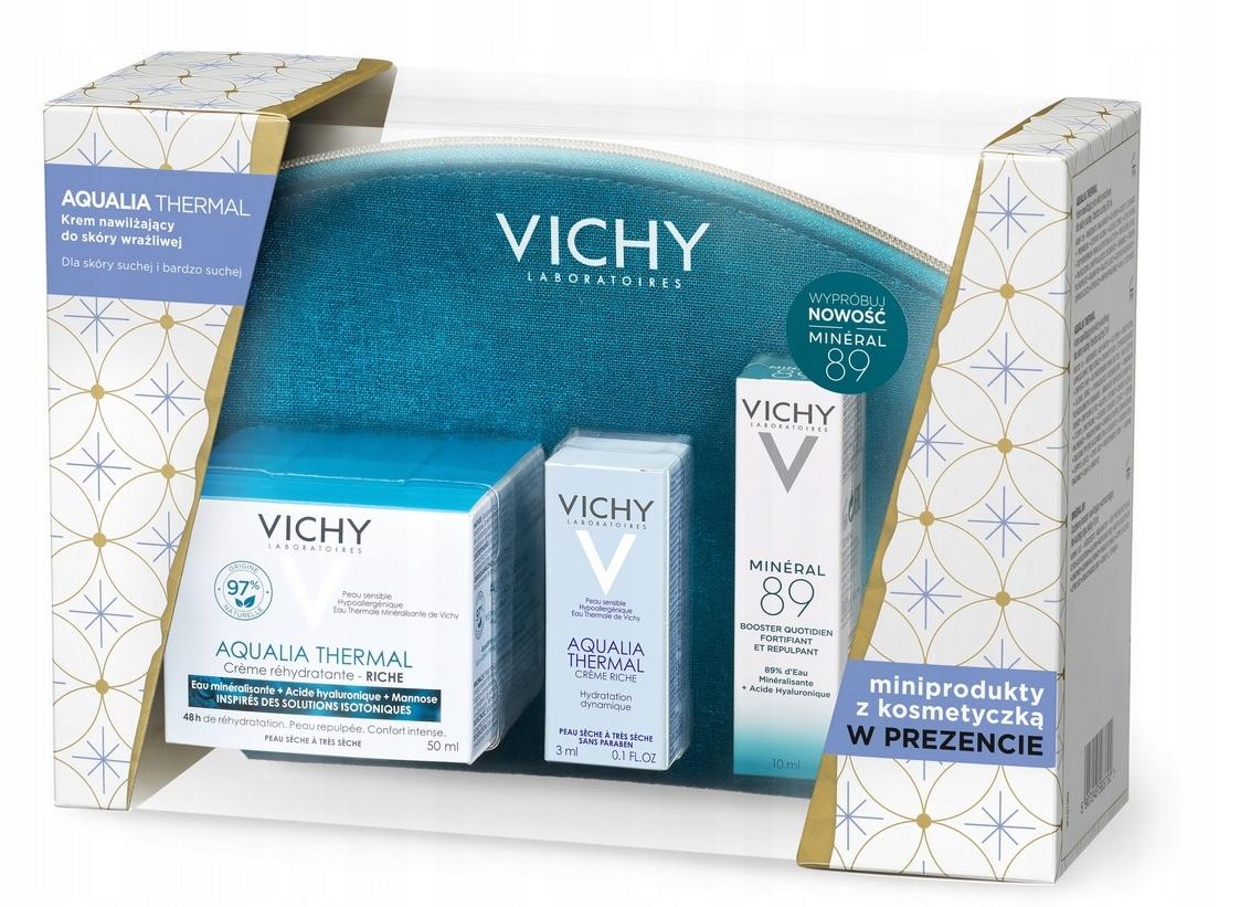 VICHY AQUALIA THERMAL Bogata 50ml + Miniprodukty