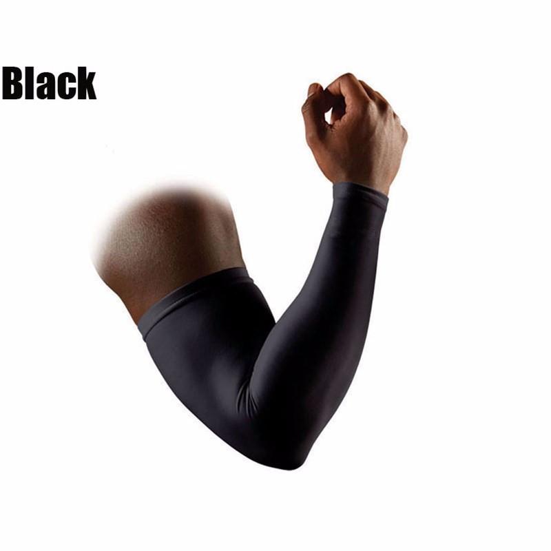 Rękaw kompresyjny do grania czarny M L XL od ręki!