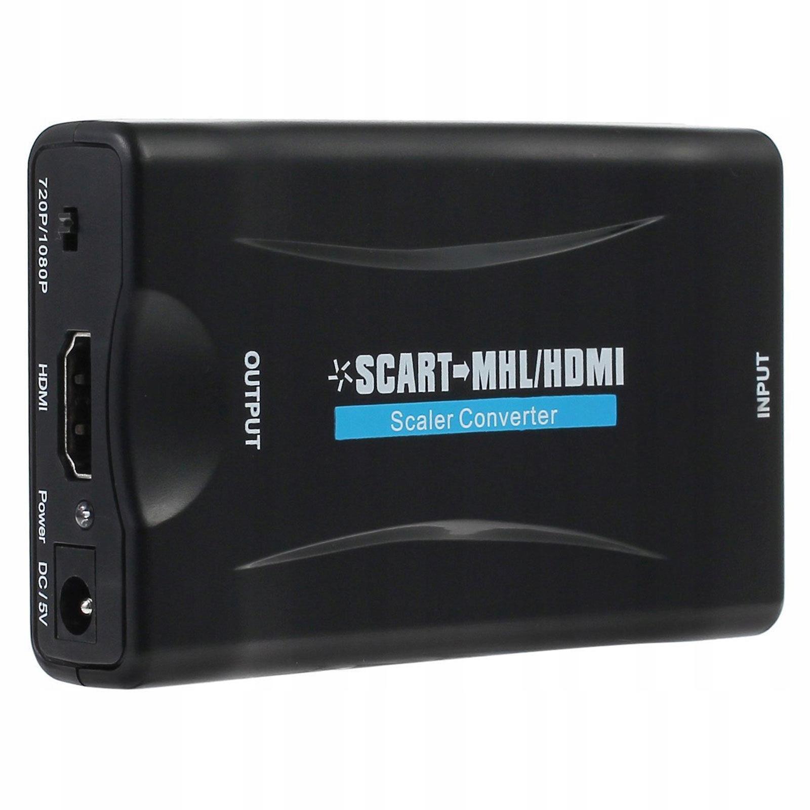 Konwerter SCART na HDMI Spacetronik SNAVS2H03