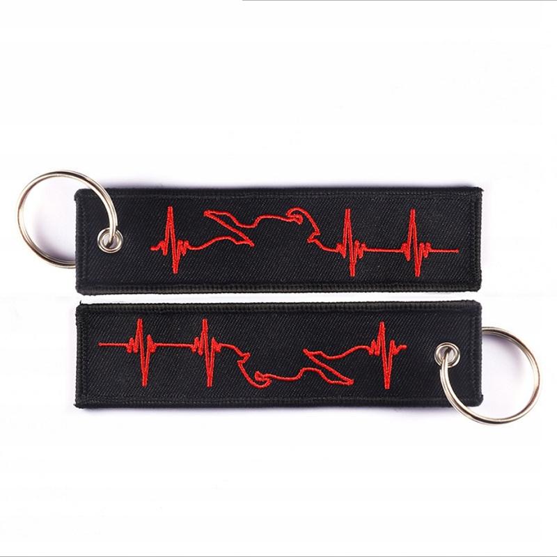 Breloczek motocyklowy brelok do kluczy EKG