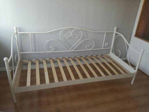 łóżko Metalowe Jysk 90x200 7699996068 Oficjalne Archiwum