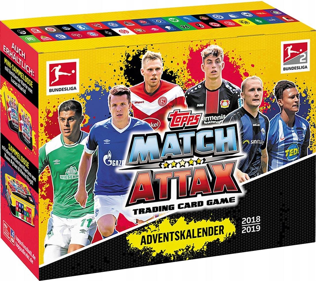 Karty piłkarskie Topps Match Attax 2018 2019