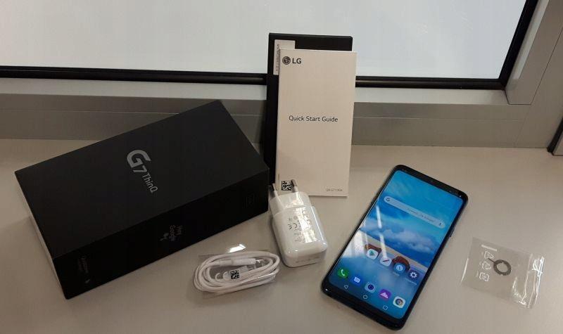 ZADBANY LG G7 THINQ 4GB/64GB +PUDEŁKO B/S OKAZJA