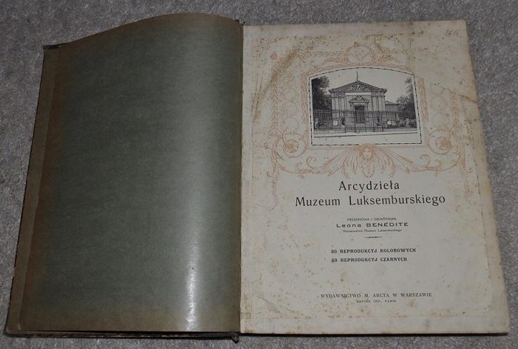 ARCYDZIEŁA MALARSTWA LUKSEMBURSKIEGO album