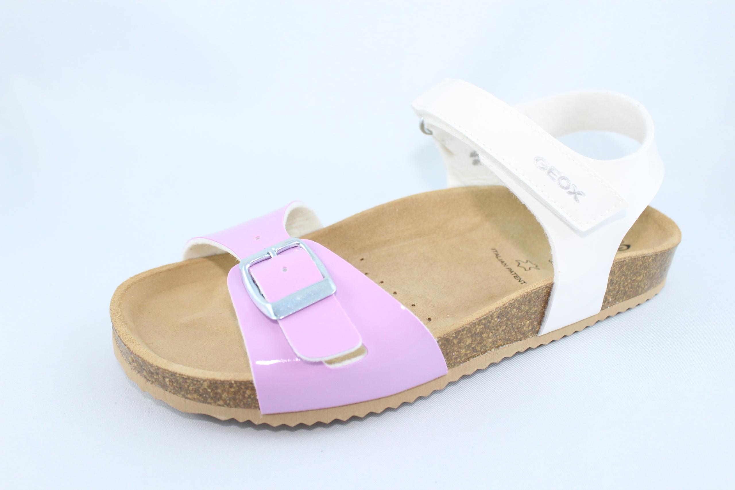 GEOX J921CD sandałki,sandały,fusbet lila R 35