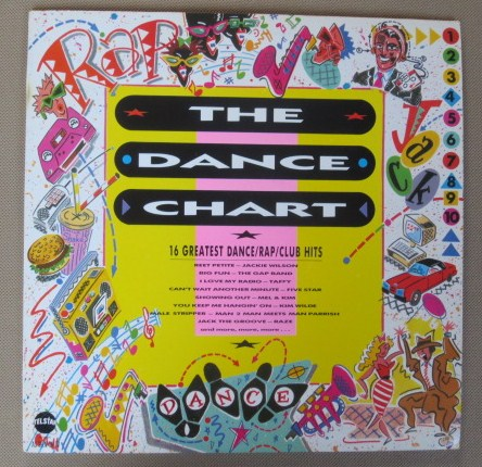 THE DANCE CHART 1987 UK