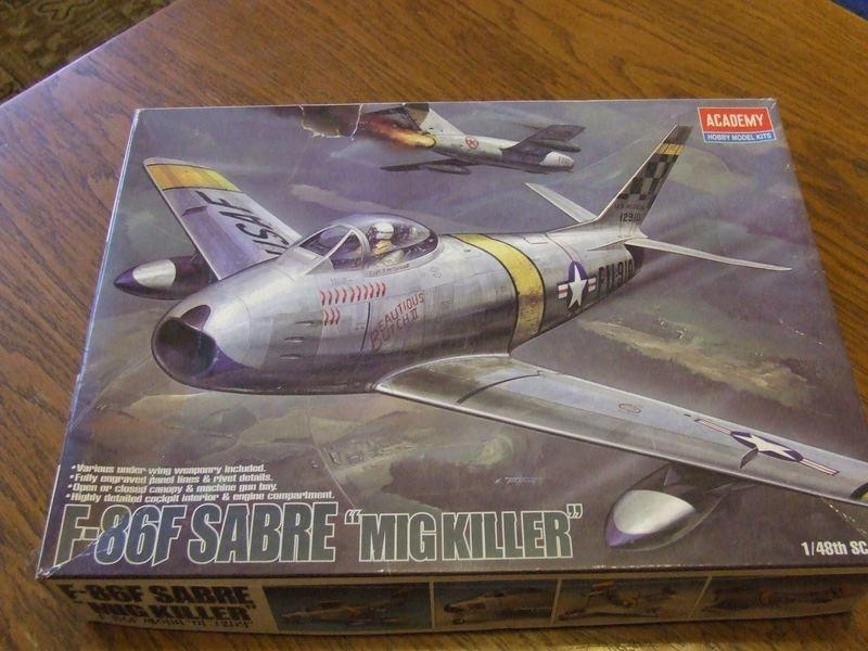 F-86 Sabre; 1:48; ACADEMY