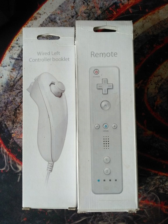 Kontrolery Nintendo Wii
