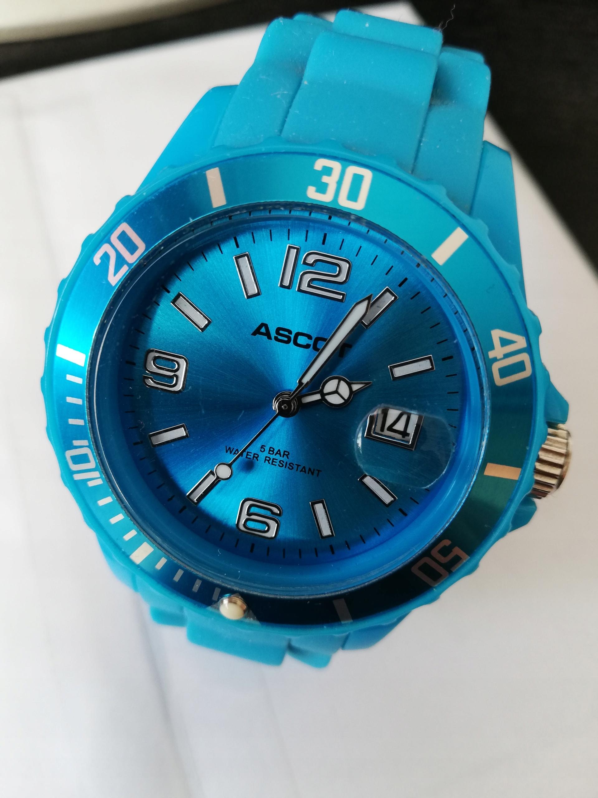 Ascot niemiecki sportowy wodoszczelny niebieski