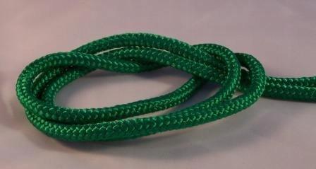 Lina Linka polipropylenowa 8 mm zielona 1 metr1,06
