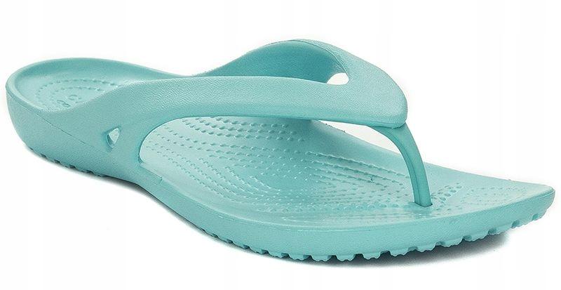 Klapki japonki Crocs r.36/37 niebieskie 202492-40M