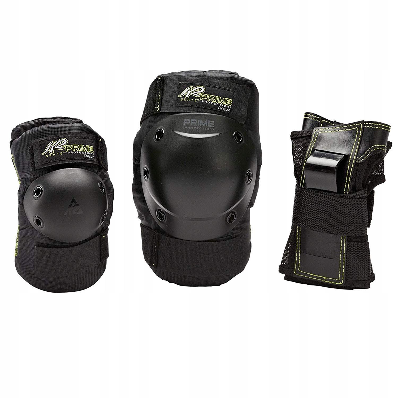 Zestaw ochraniaczy na kolana łokieć nadgarstek K2