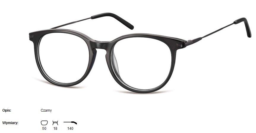 feb3fb23375e10 okulary oprawki koła a'la Ray Ban + soczewki z AR - 7425348004 ...