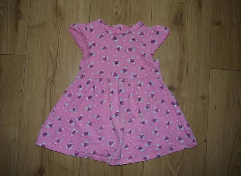 Sukienka r. 86 Mothercare biedronki