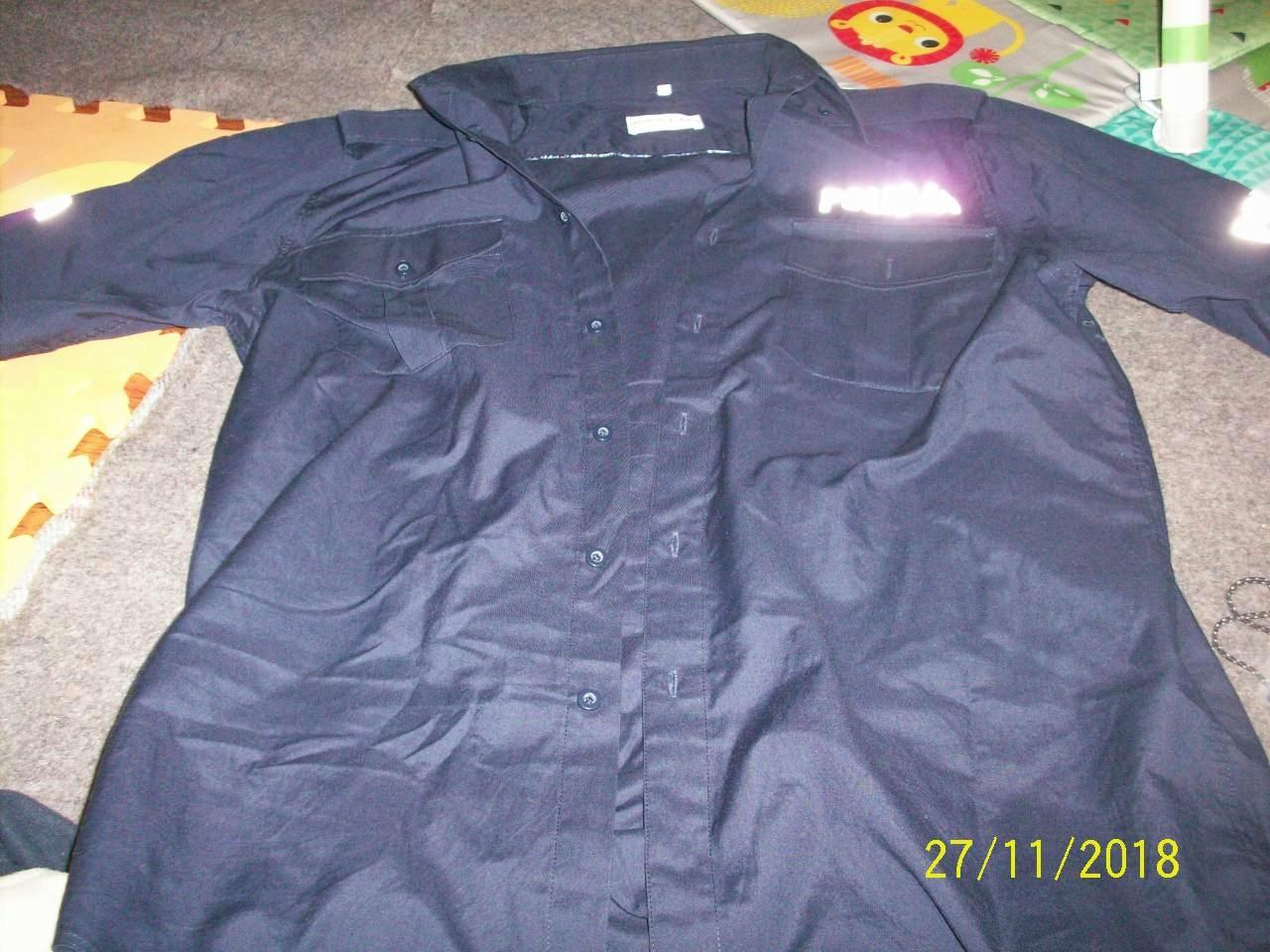 Koszula policja krótki rekaw arlen