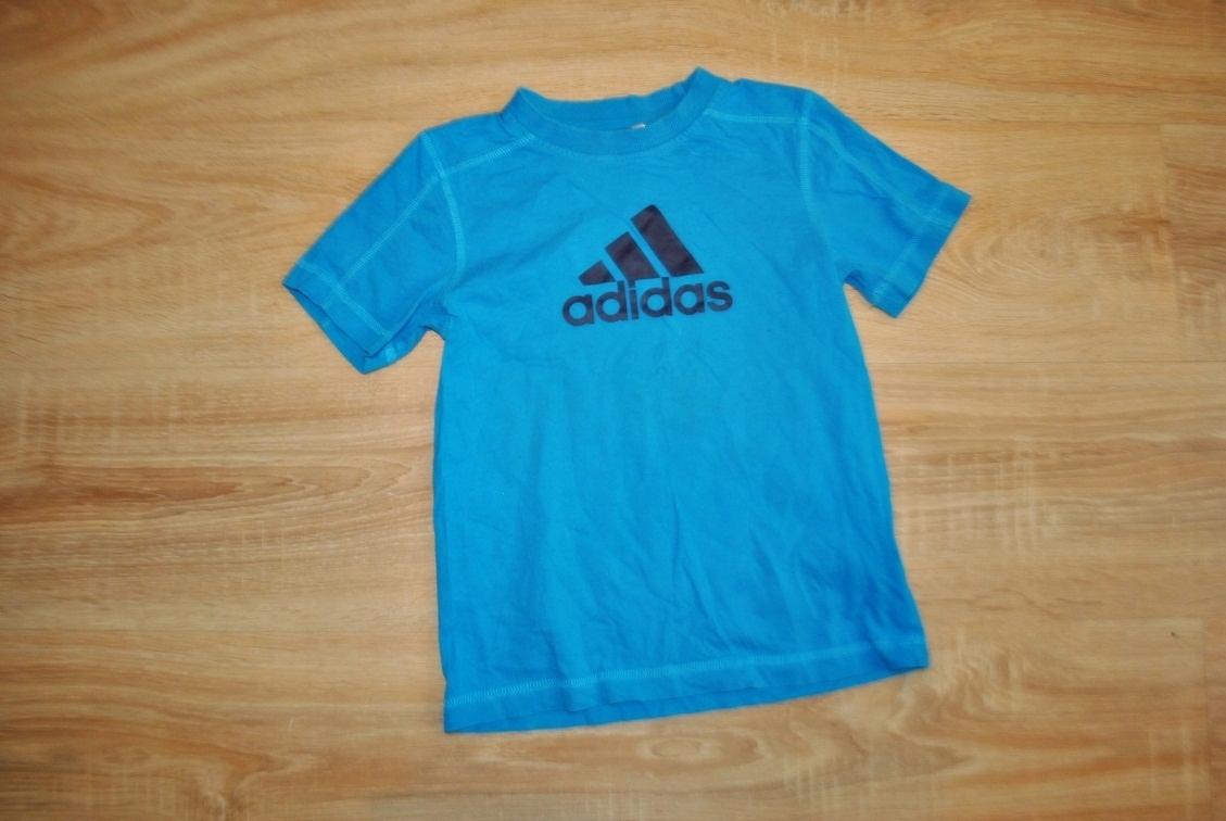 ADIDAS świetna koszulka LOGO 122