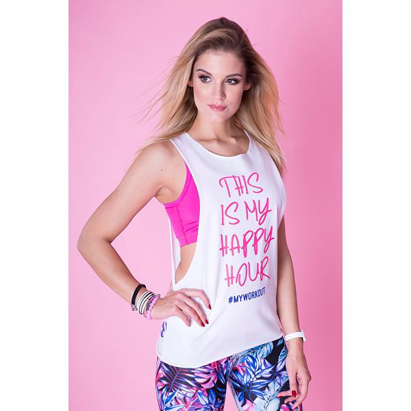 2skin koszulka oversize na fitness do tańca r XS