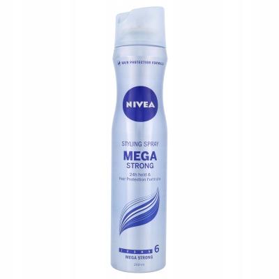 Nivea Mega Strong Lakier do włosów 250 ml