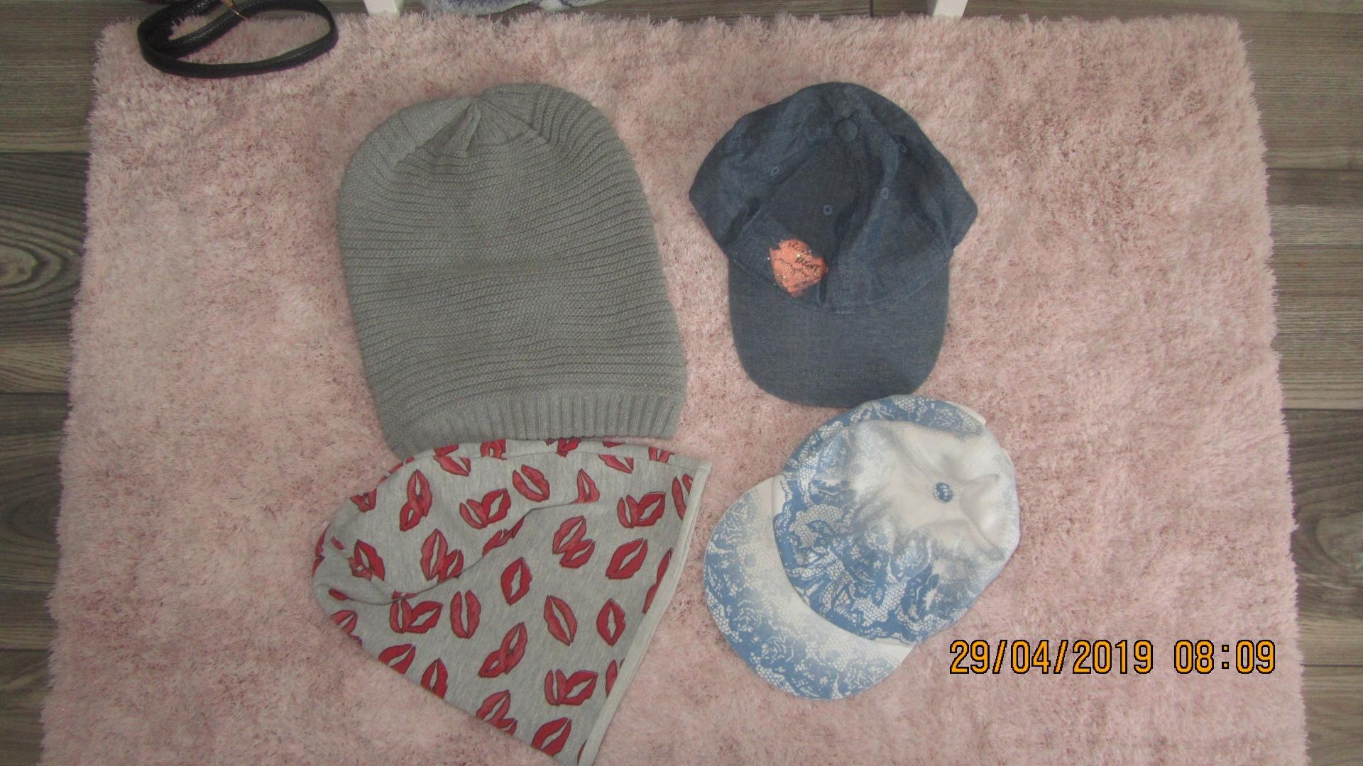 Wójcik, Coccodrillo zestaw czapek r. 134/140