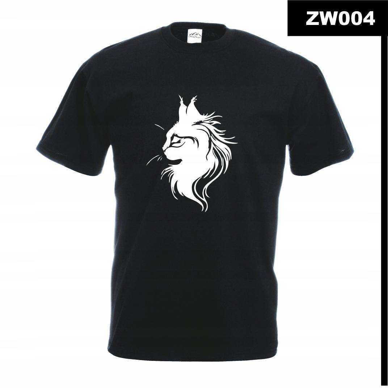 Koszulka z nadrukiem MÓJ KOT KOCIAK CAT ZW004M C3X
