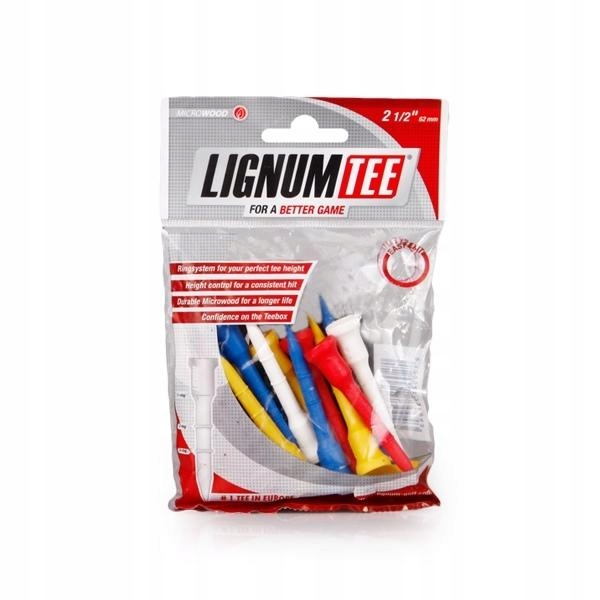 Lignum Golf Tees 62 mm 2 1/2 - 16 szt.