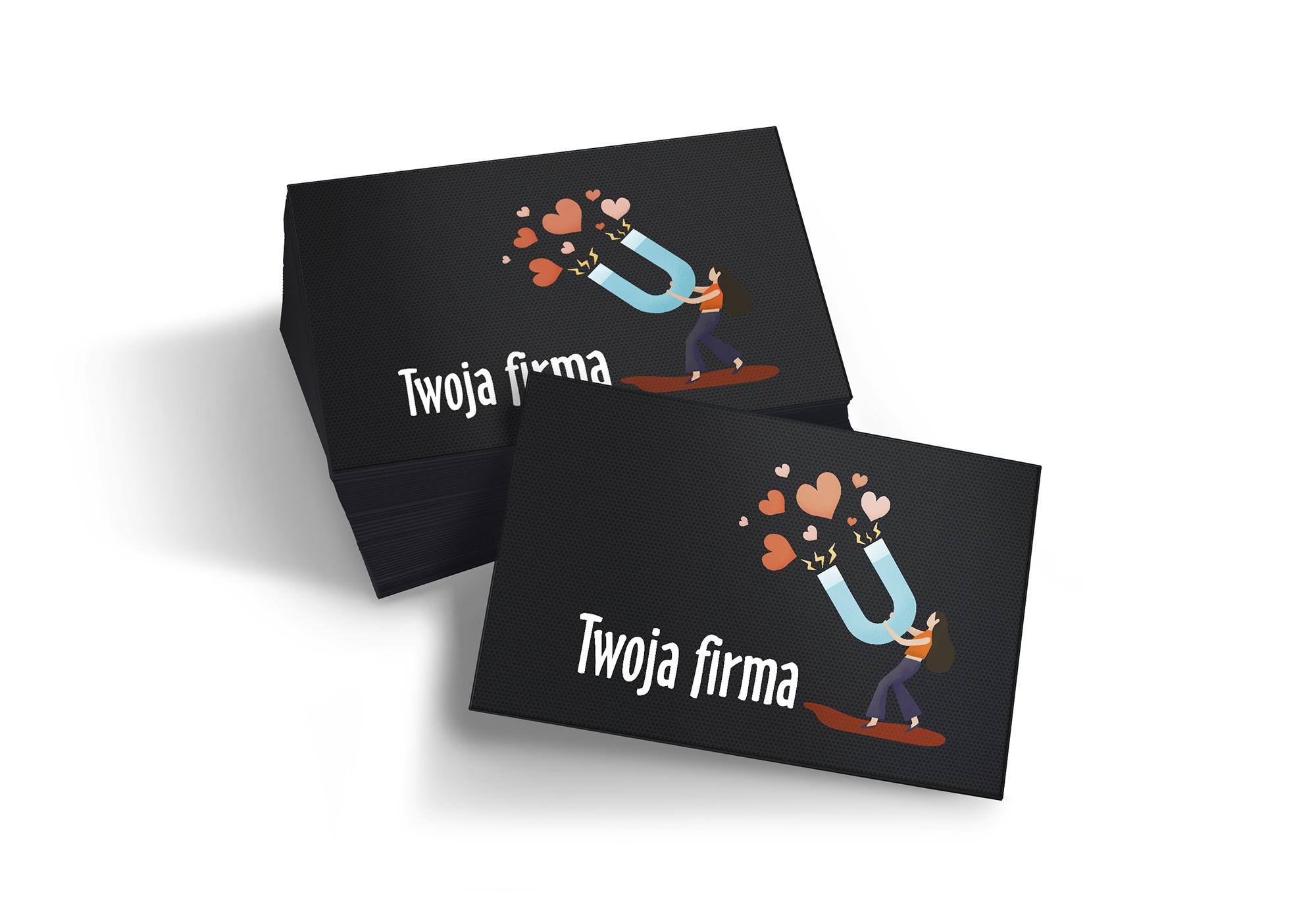 Magnesy na lodówkę 1000 szt. 7x5 cm reklamowe