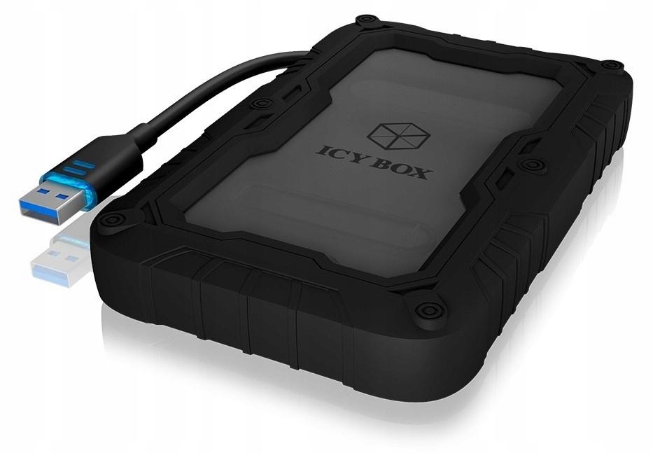 ICYBOX IB-AC603PL-U3 Adapter 2,5'' HDD+ochrona
