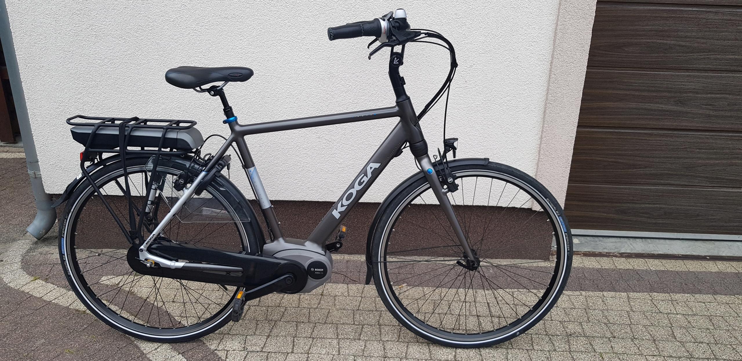 rower elektryczny KOGA e-nova bosch r. 57 PARA