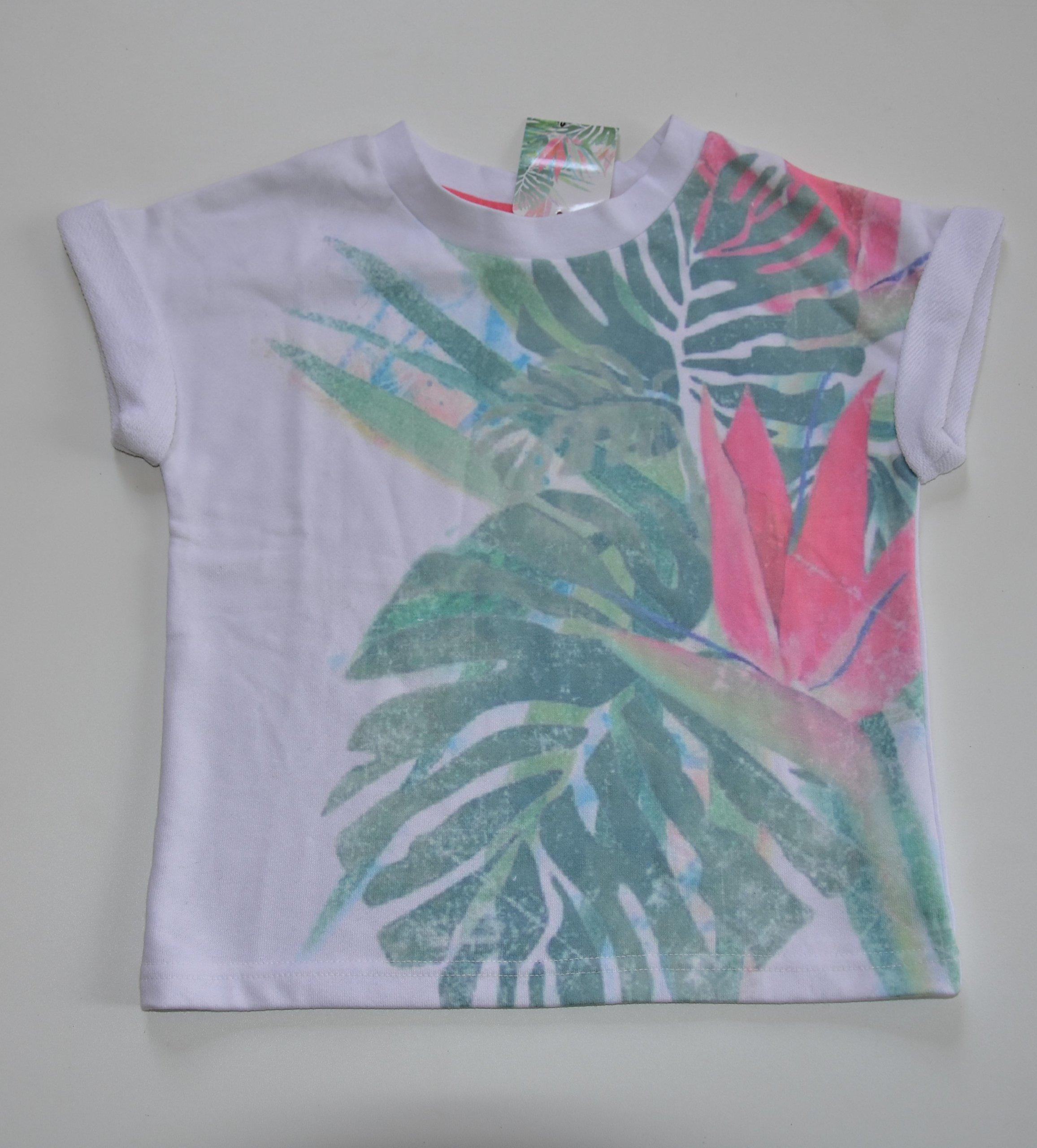 bluza dresowa dżungla krótki rękaw 5.10.15. 140
