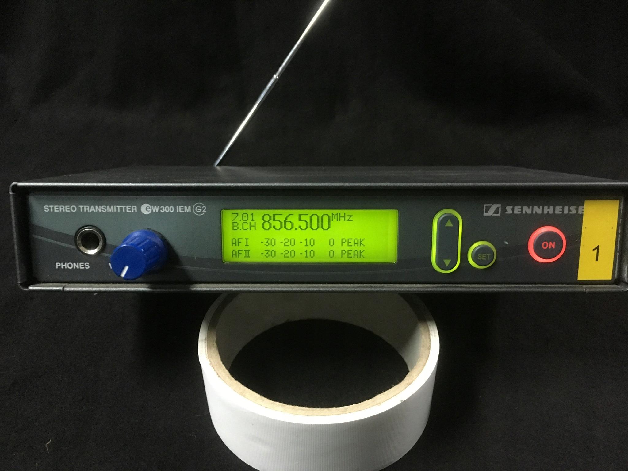 Sennheiser EW300 G2 IEM odsłuch douszny