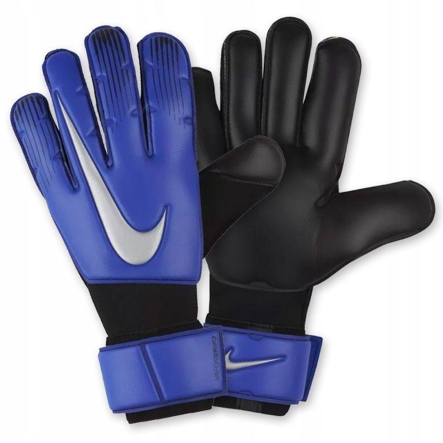Rękawice Nike Goalkeeper Vapor Grip3 NIEBIESKI; 9