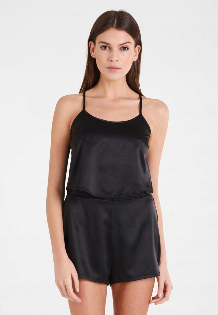 EVEN&ODD zestaw piżama satyna XL 40 42