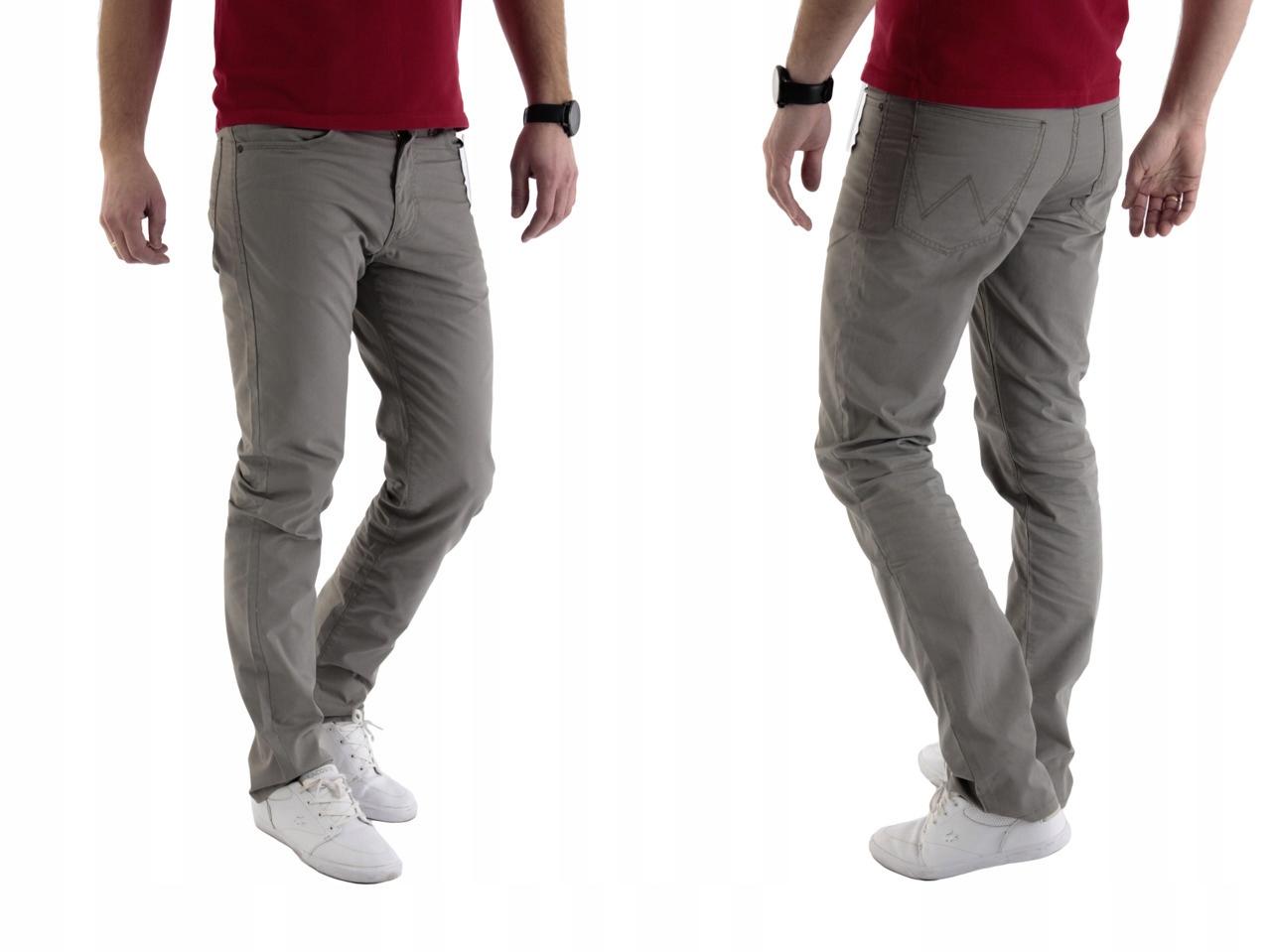 Wrangler Arizona Light Olive spodnie W32 L30