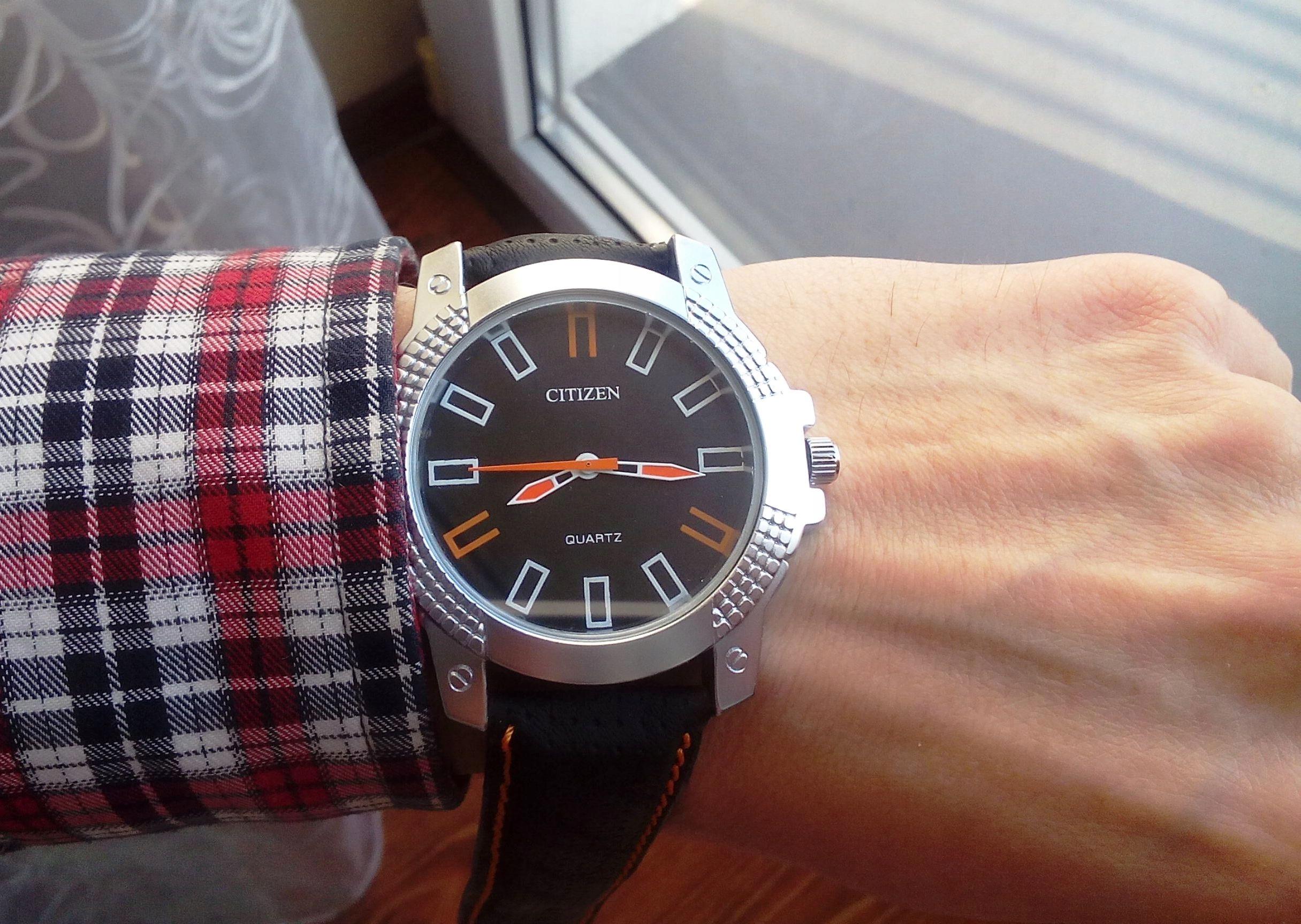 Nowy, masywny rewelacyjny sportowy zegarek Citizen