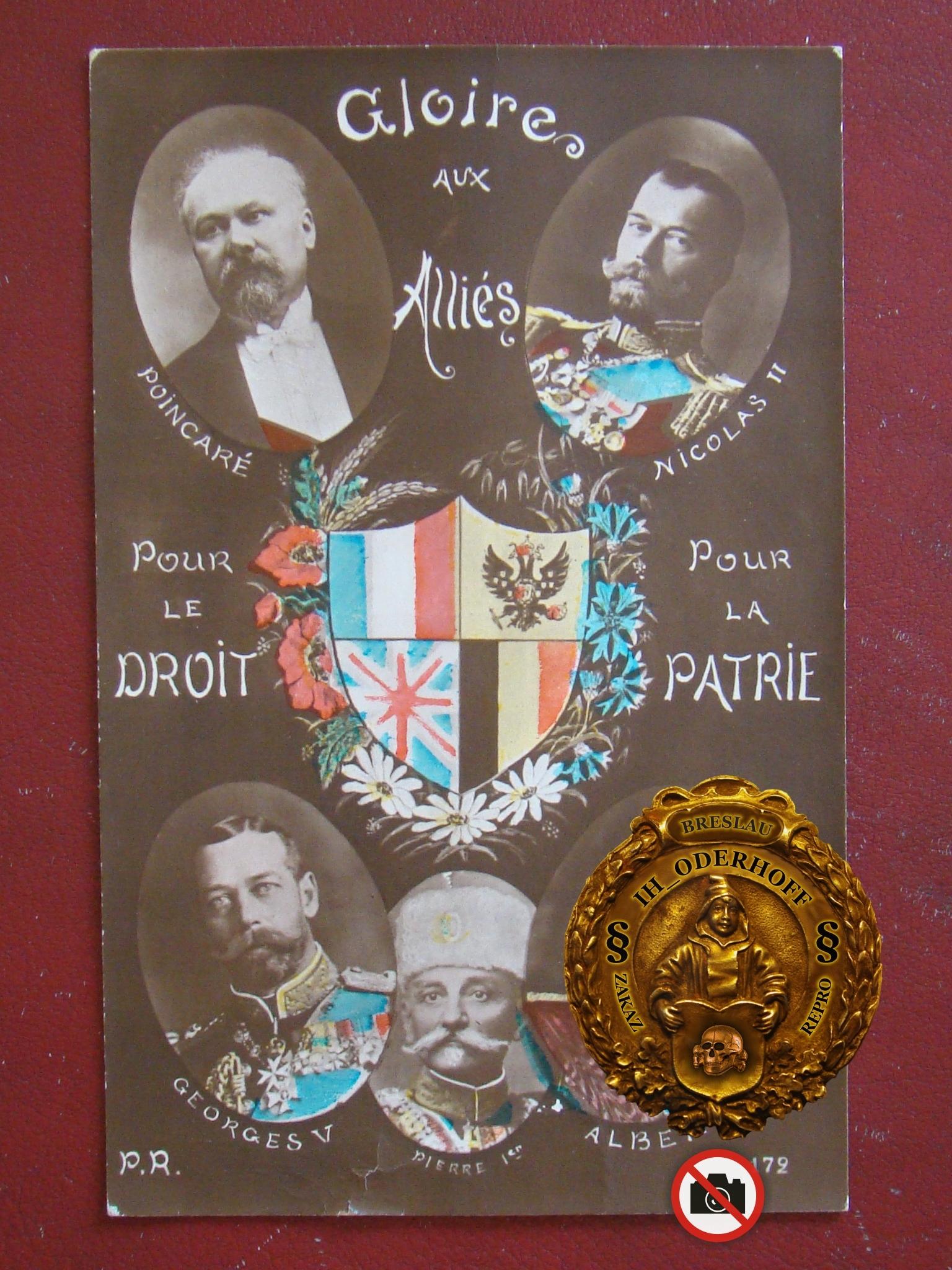Anglia Glorie aux Allies,Orgifoto=Paris 1914 C5522