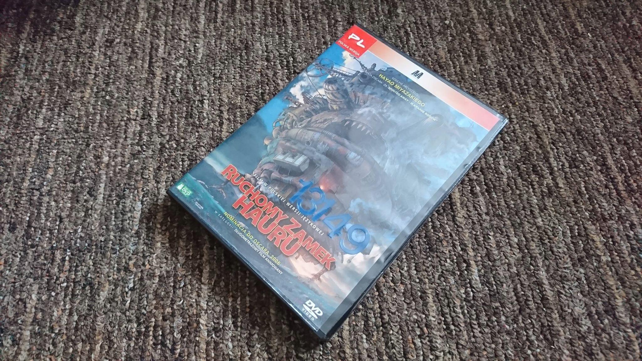 Ruchomy zamek Hauru DVD