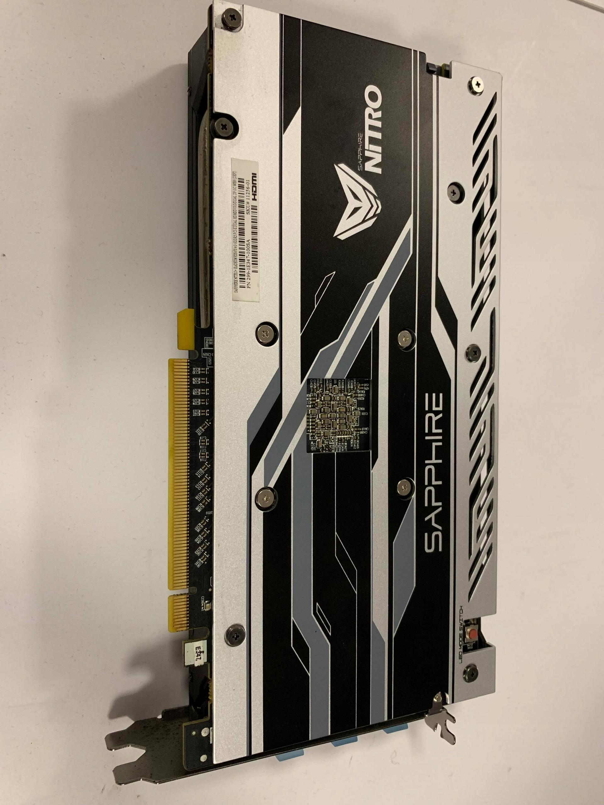 Sapphire Radeon RX 470 4GB Nitro + Dual Bios - 7877843354