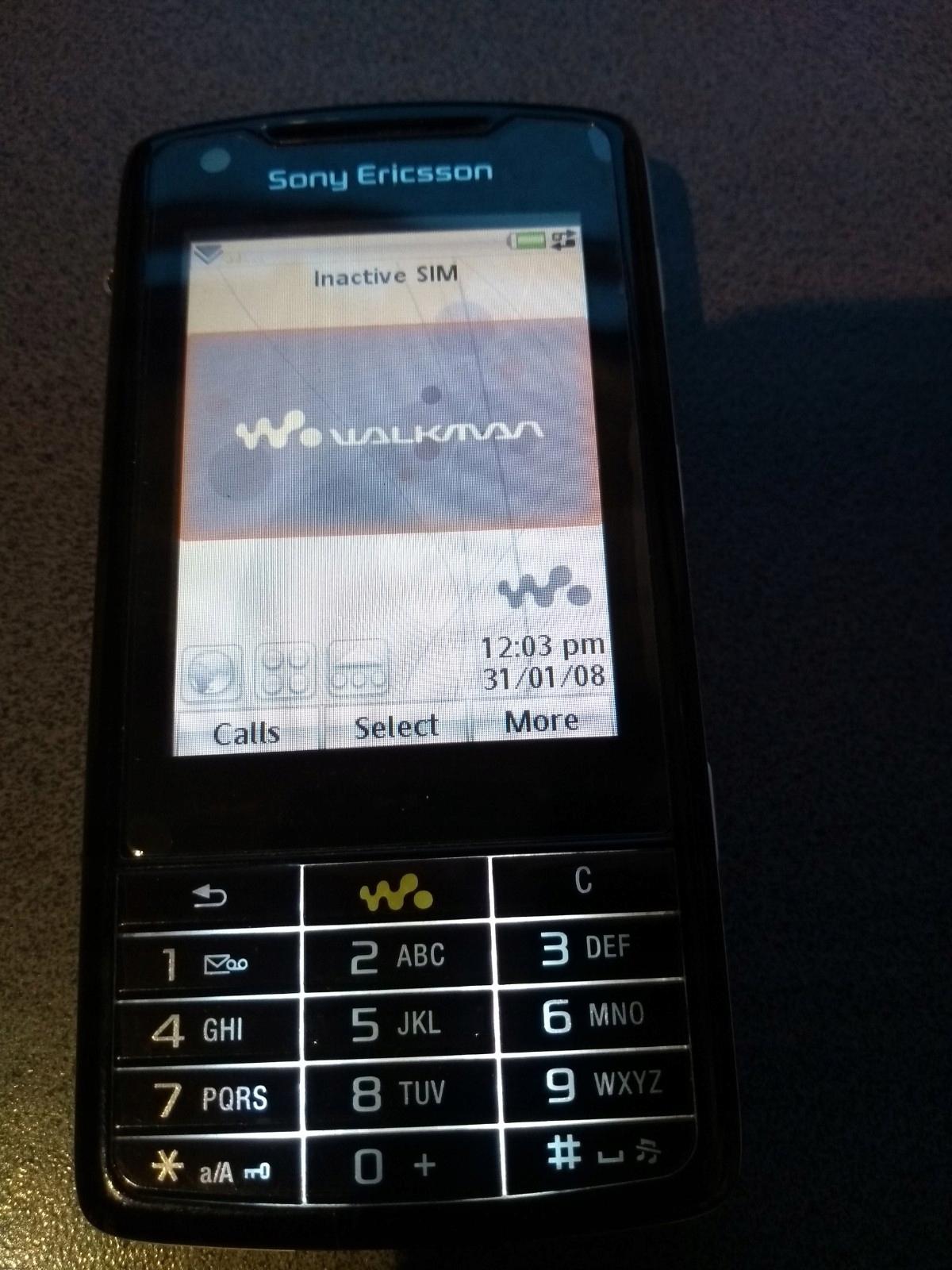 Sony Ericsson W960i, kultowy smartfon, 8GB