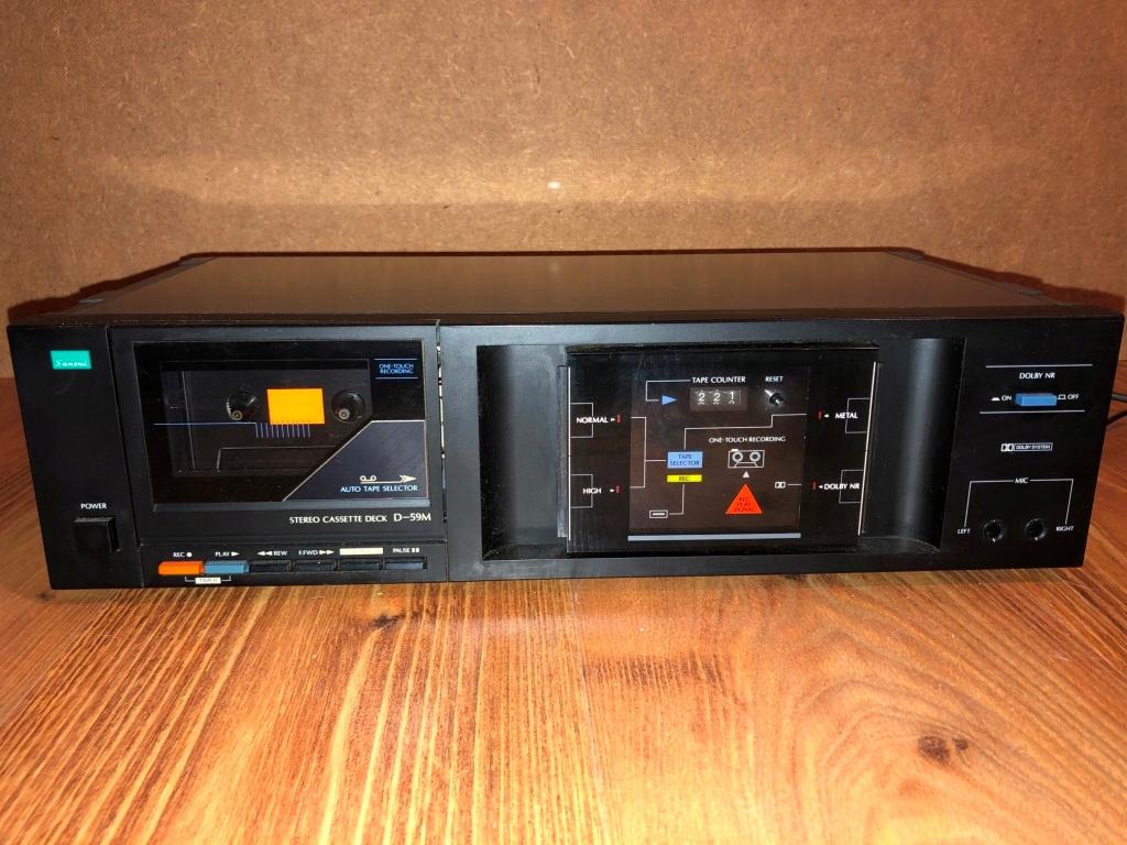 Sansui D-59M Magnetofon Vintage