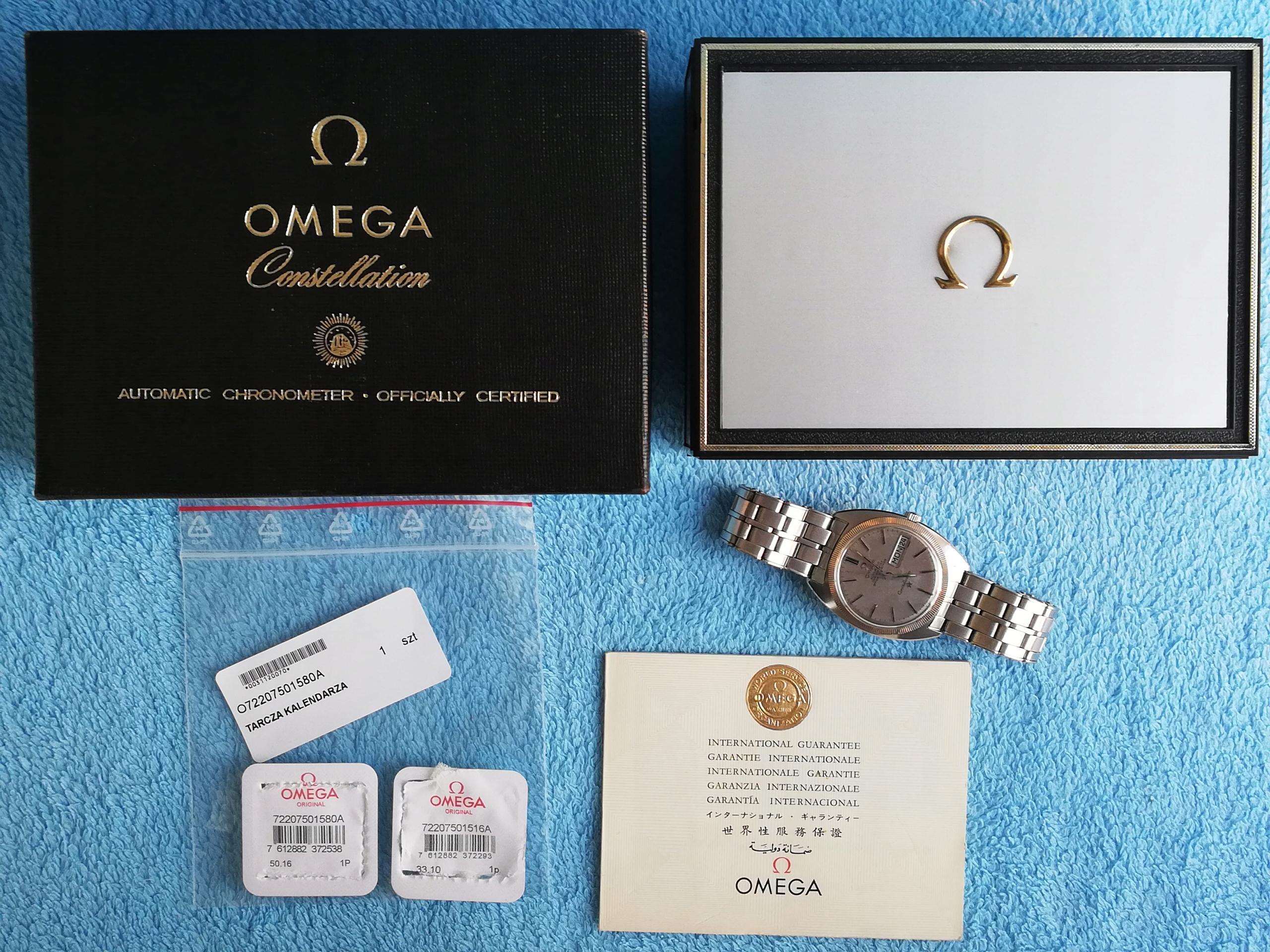 Omega Constellation Automatic Chronometer 1968r.