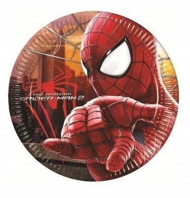 Talerzyki papierowe 20cm SPIDER-MAN 2 - 8szt